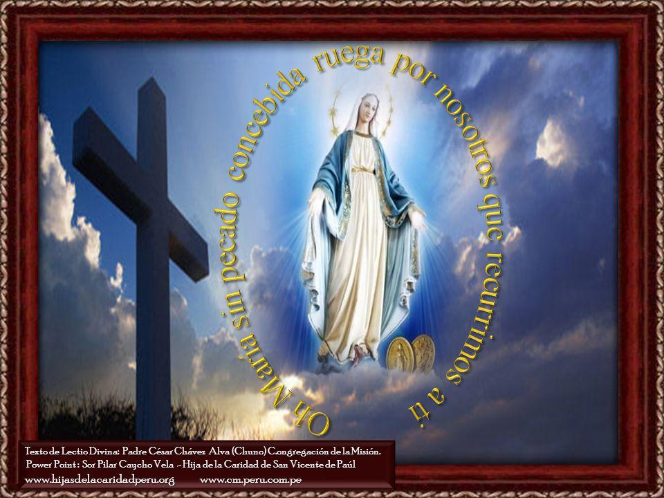 Oh María sin pecado concebida ruega por nosotros que recurrimos a ti