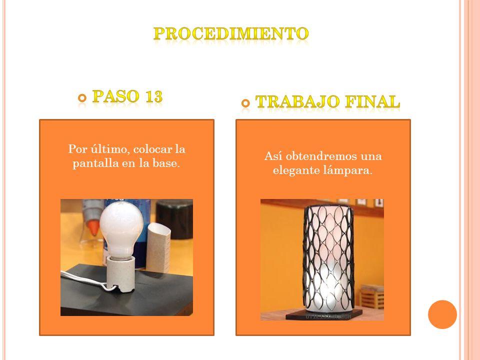 Procedimiento paso 13 Trabajo final