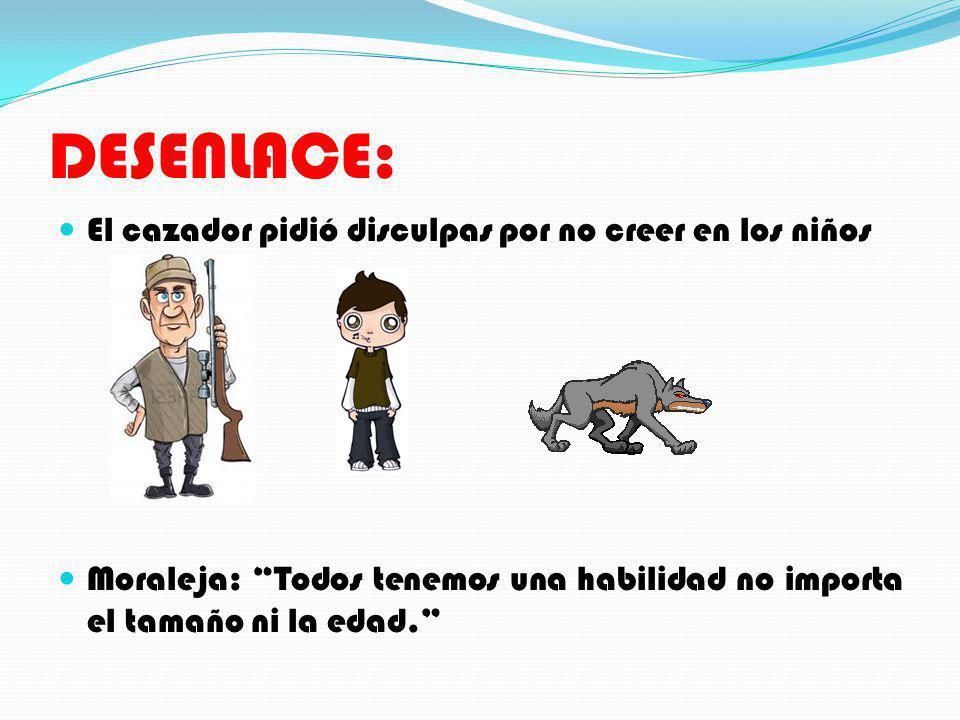 DESENLACE: El cazador pidió disculpas por no creer en los niños
