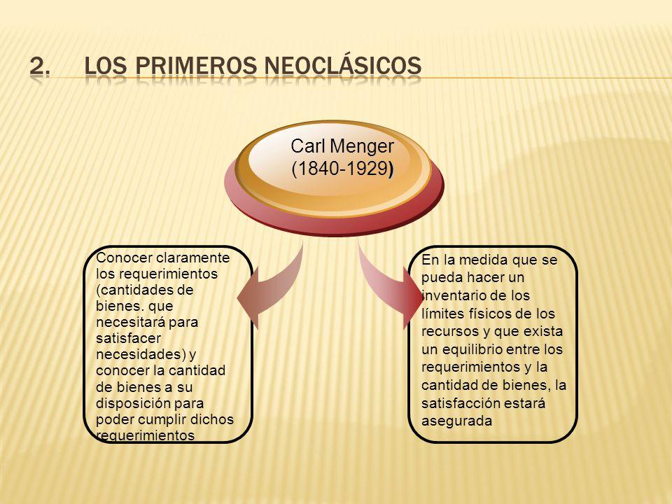 Los Primeros Neoclásicos