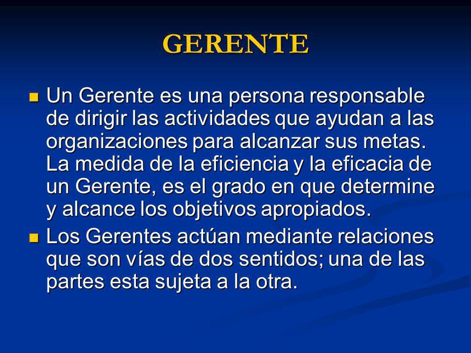 GERENTE