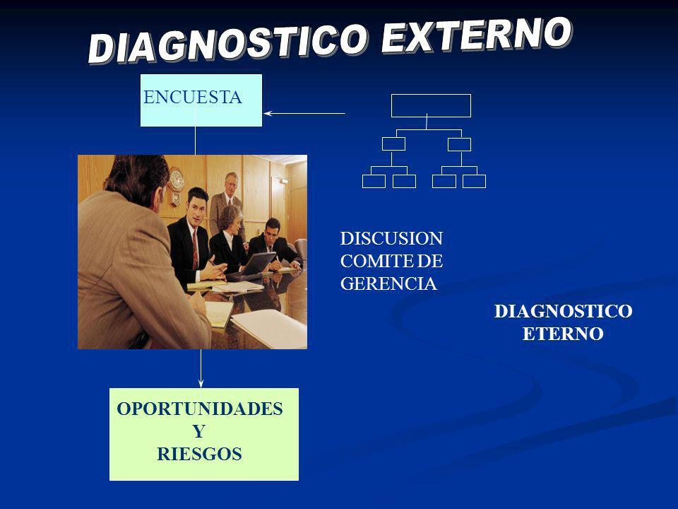 DIAGNOSTICO ETERNO OPORTUNIDADES Y RIESGOS