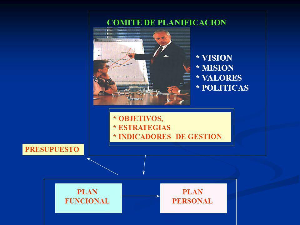 COMITE DE PLANIFICACION