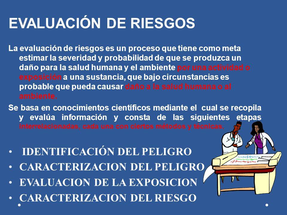 EVALUACIÓN DE RIESGOS IDENTIFICACIÓN DEL PELIGRO