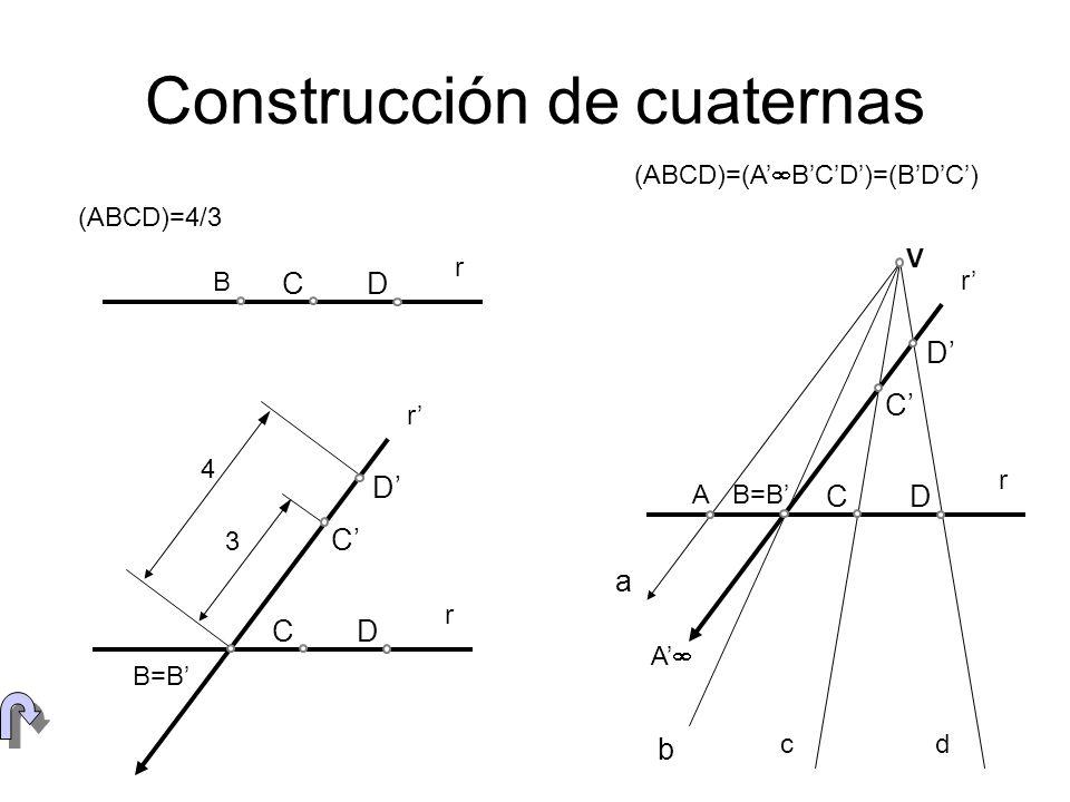 Construcción de cuaternas