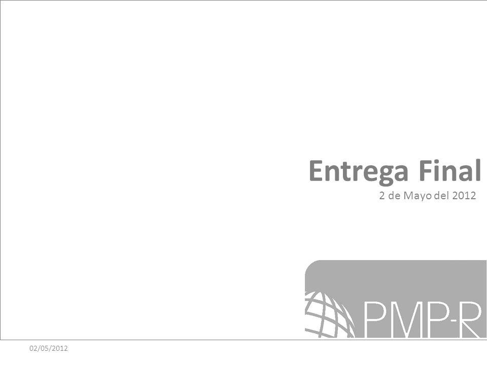 Entrega Final 2 de Mayo del 2012 02/05/2012