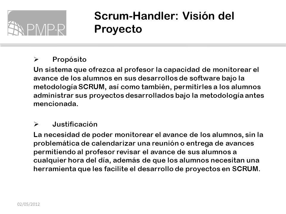Scrum-Handler: Visión del Proyecto