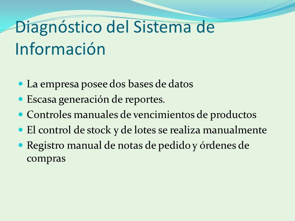 Diagnóstico del Sistema de Información