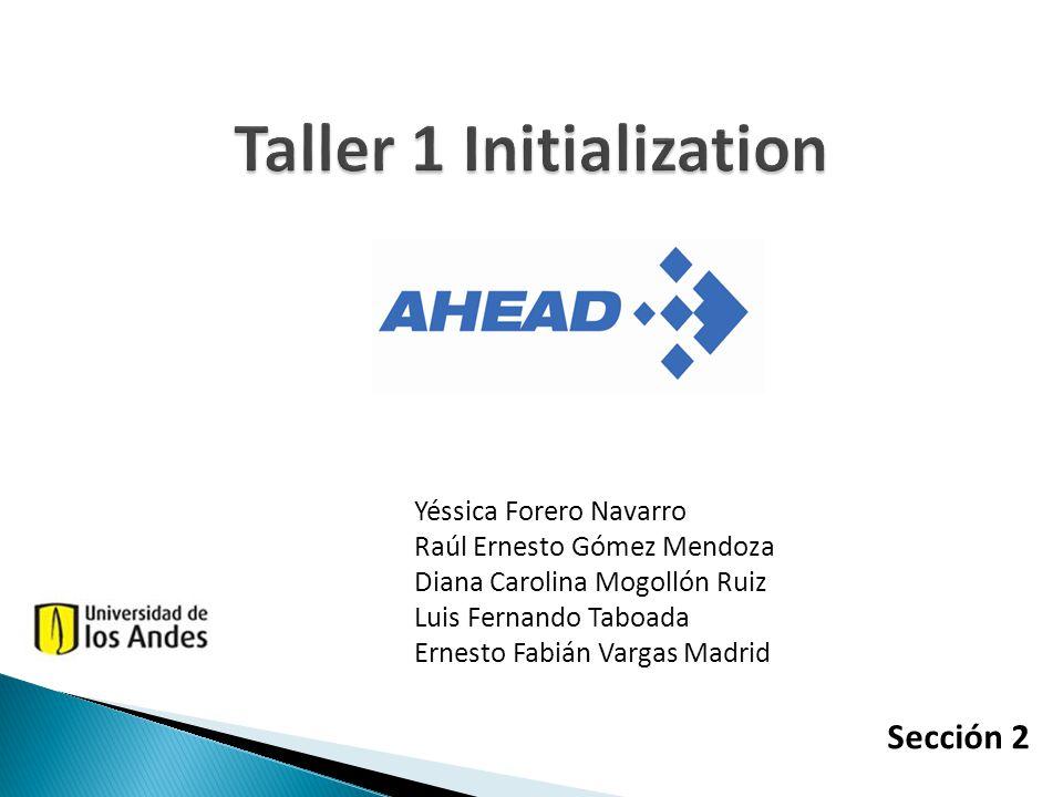 Taller 1 Initialization