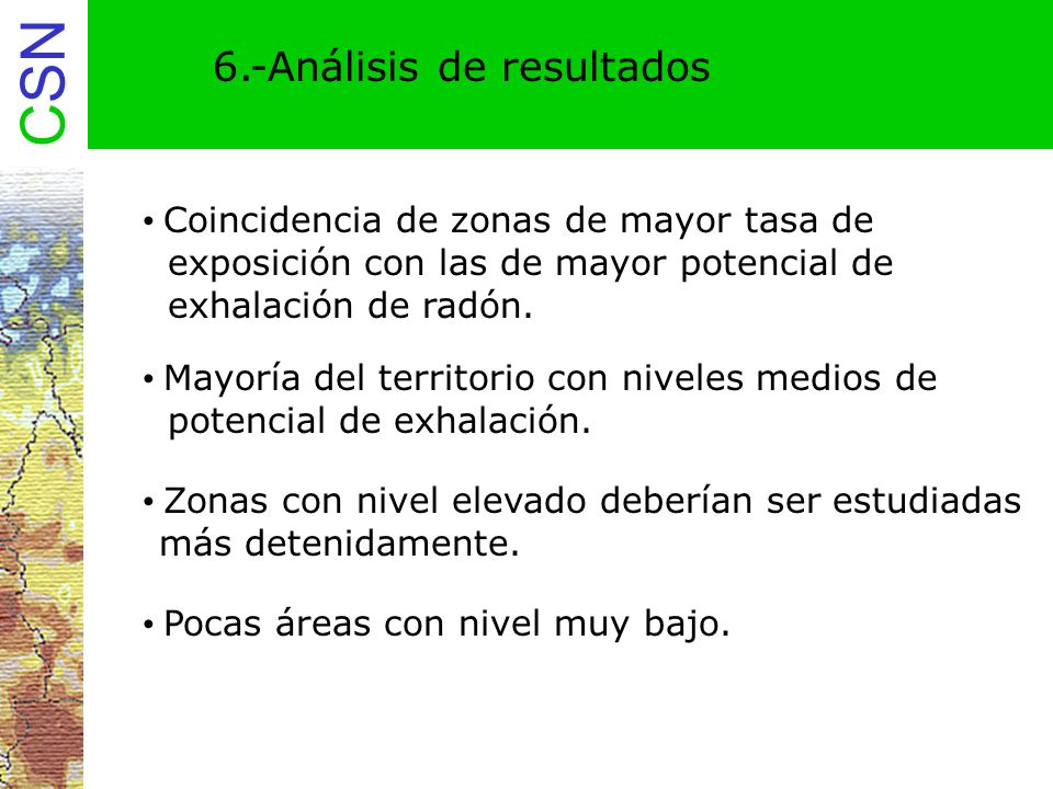 6.-Análisis de resultados