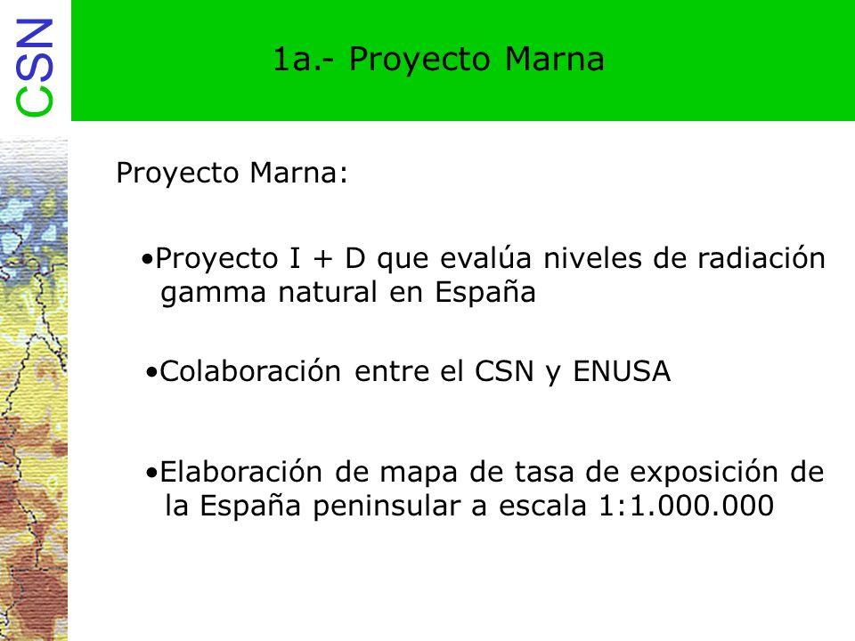 1a.- Proyecto Marna Proyecto Marna:
