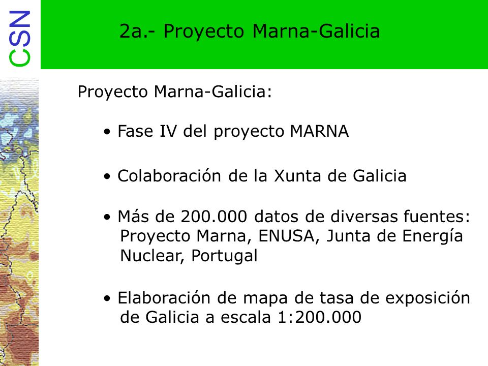 2a.- Proyecto Marna-Galicia