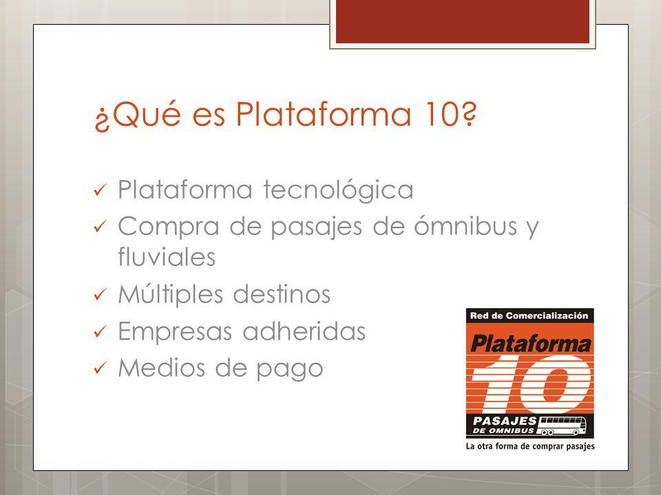 ¿Qué es Plataforma 10 Plataforma tecnológica