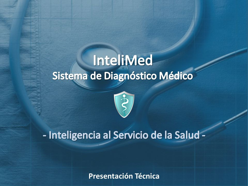InteliMed Sistema de Diagnóstico Médico