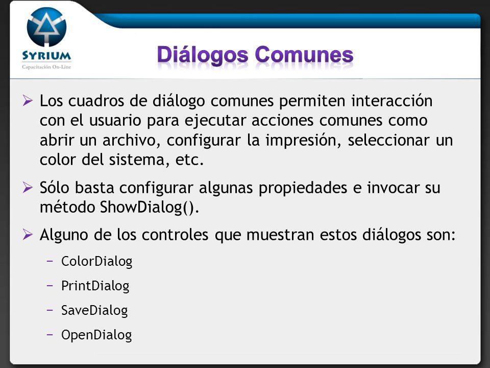 Diálogos Comunes