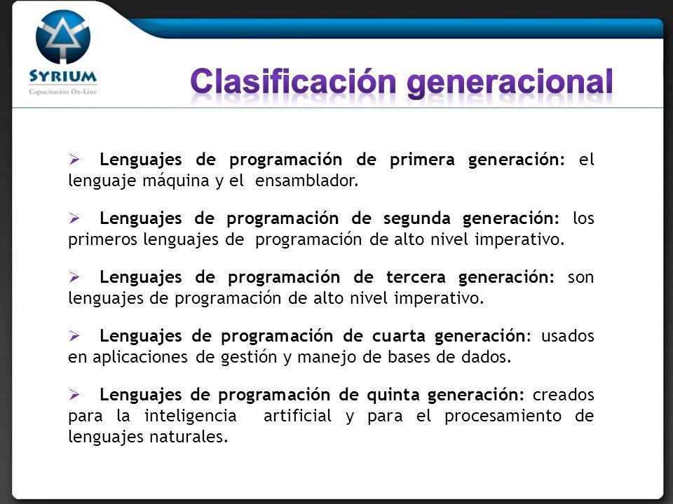 Clasificación generacional