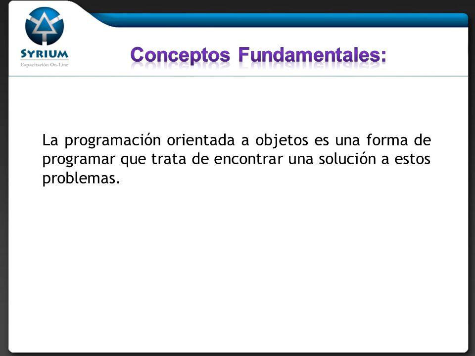 Conceptos Fundamentales: