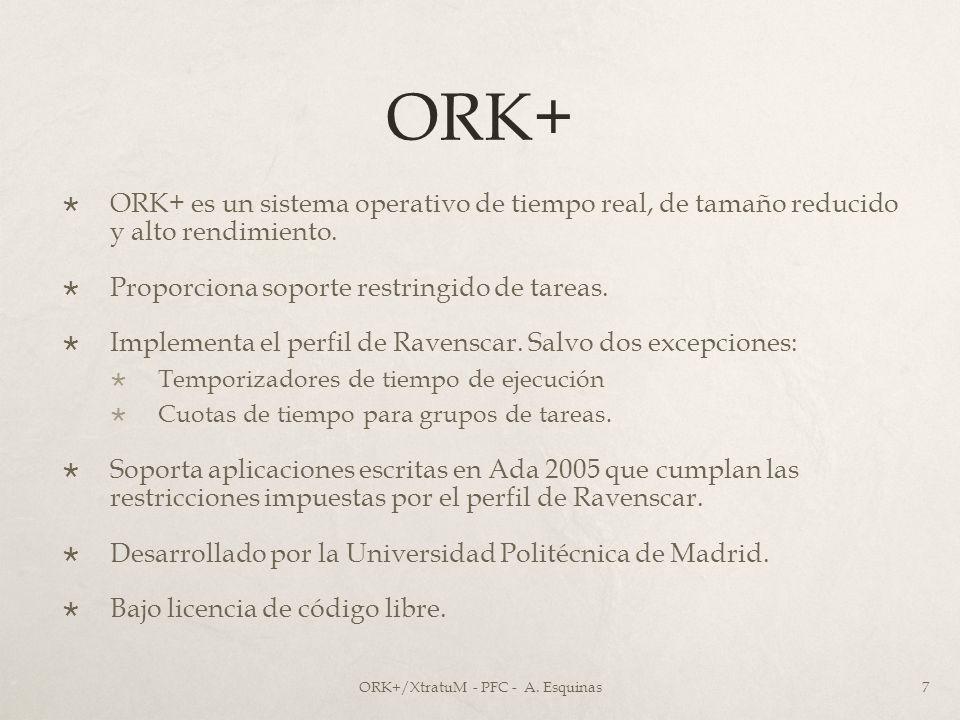 ORK+/XtratuM - PFC - A. Esquinas
