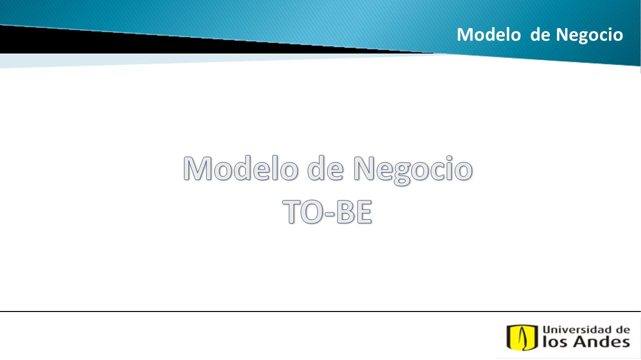 Modelo de Negocio TO-BE