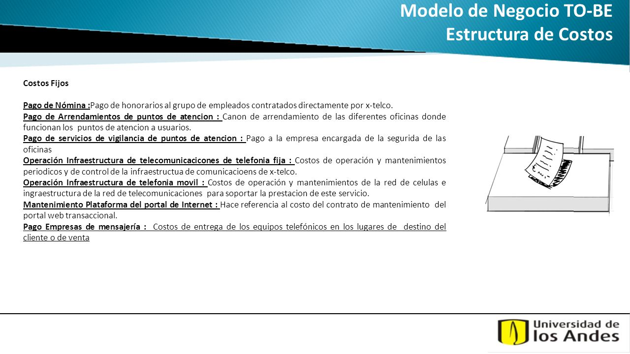 Modelo de Negocio TO-BE Estructura de Costos