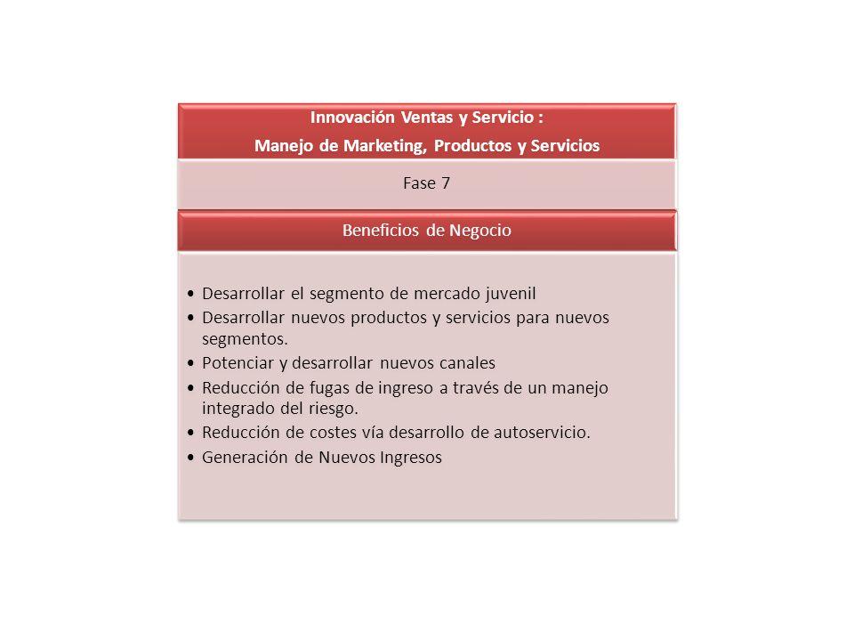 Innovación Ventas y Servicio :