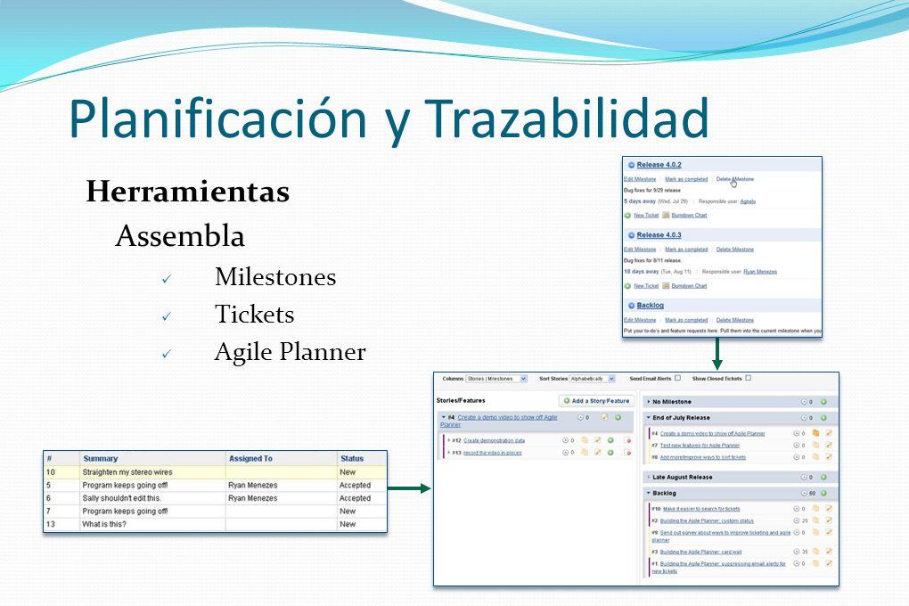 Planificación y Trazabilidad