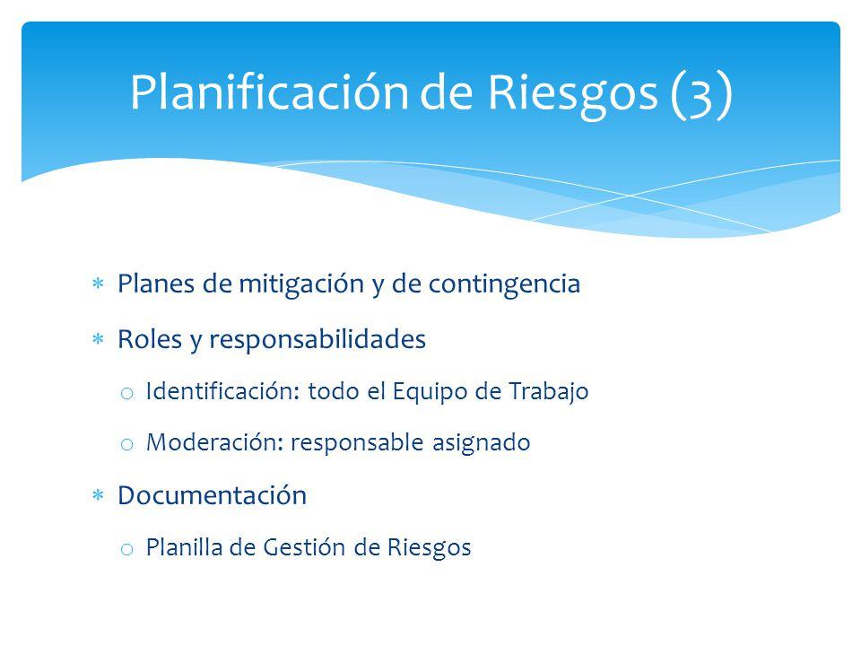 Planificación de Riesgos (3)