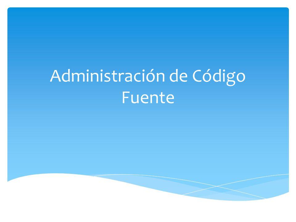 Administración de Código Fuente