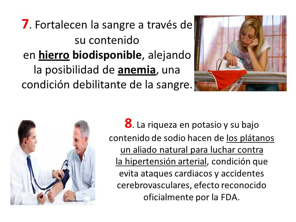 7. Fortalecen la sangre a través de su contenido en hierro biodisponible, alejando la posibilidad de anemia, una condición debilitante de la sangre.
