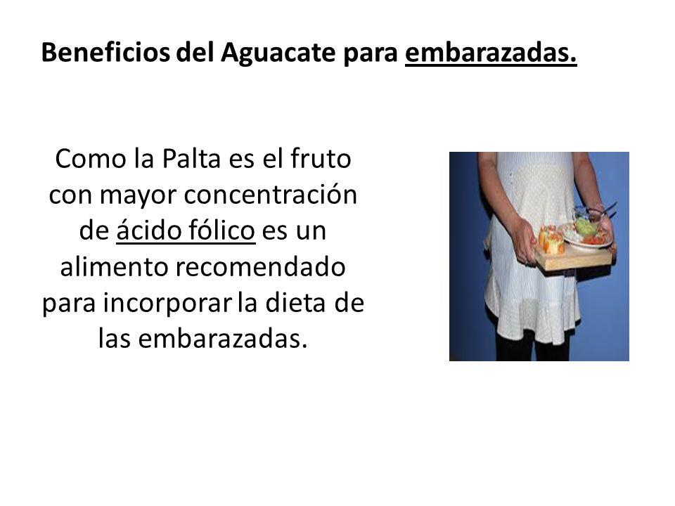 Beneficios del Aguacate para embarazadas.