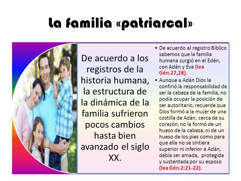 La familia «patriarcal»