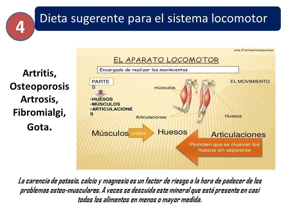 Artritis, OsteoporosisArtrosis, Fibromialgi, Gota.