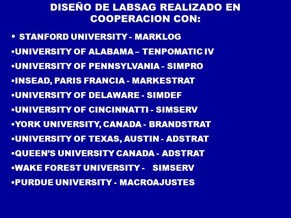 DISEÑO DE LABSAG REALIZADO EN COOPERACION CON: