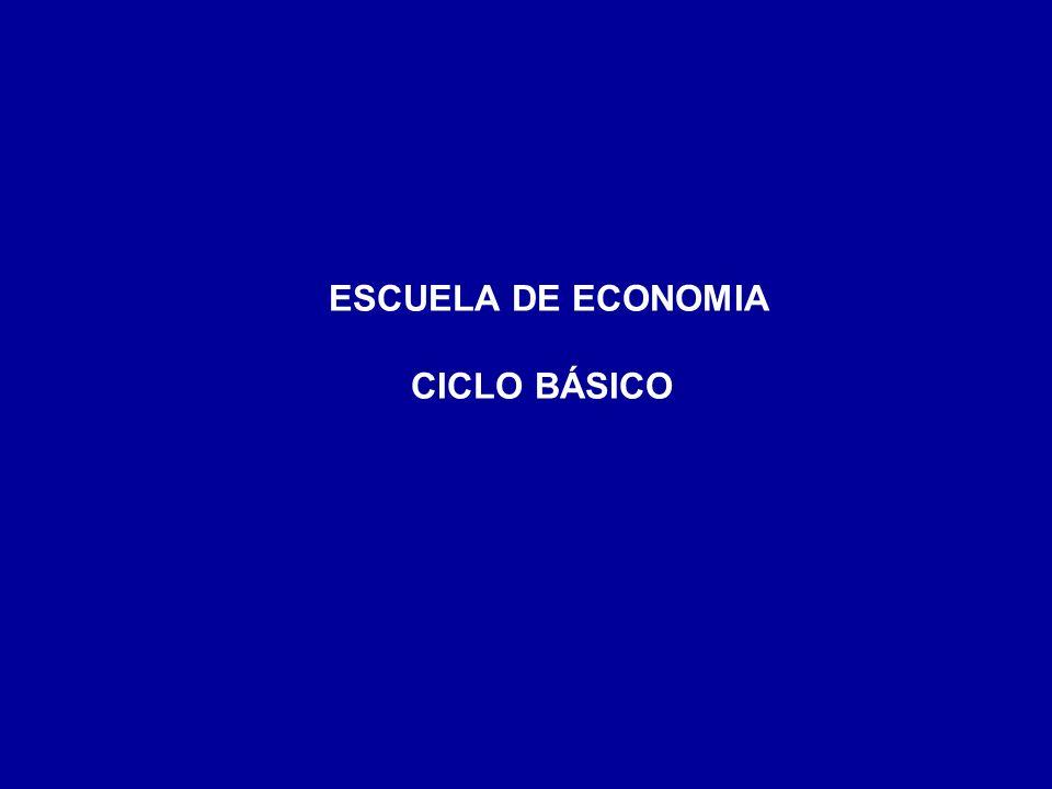 ESCUELA DE ECONOMIA CICLO BÁSICO