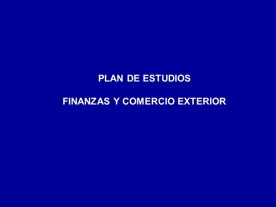 FINANZAS Y COMERCIO EXTERIOR