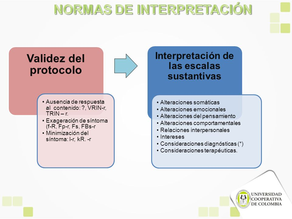 NORMAS DE INTERPRETACIÓN