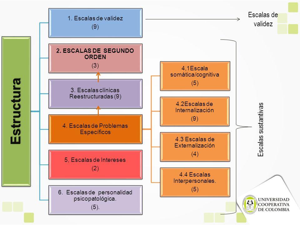 2. ESCALAS DE SEGUNDO ORDEN