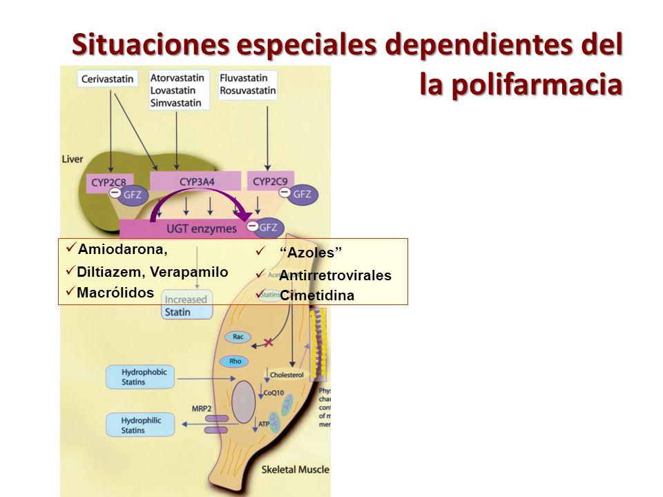 Situaciones especiales dependientes del la polifarmacia