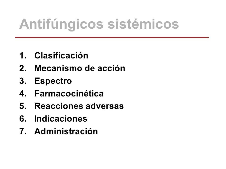 Antifúngicos sistémicos