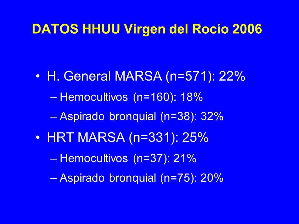 DATOS HHUU Virgen del Rocío 2006