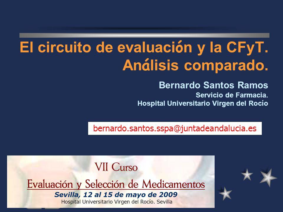 El circuito de evaluación y la CFyT. Análisis comparado.