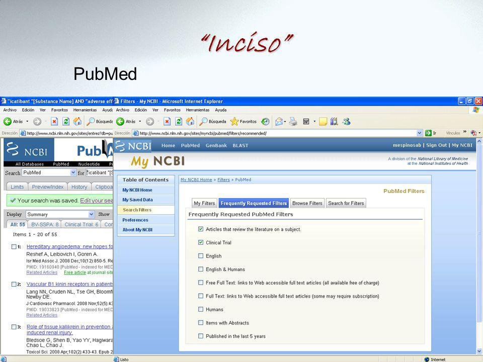 Inciso PubMed