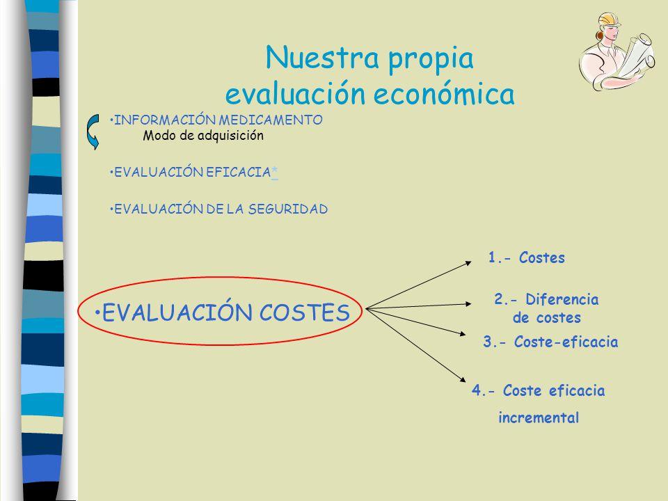 Nuestra propia evaluación económica