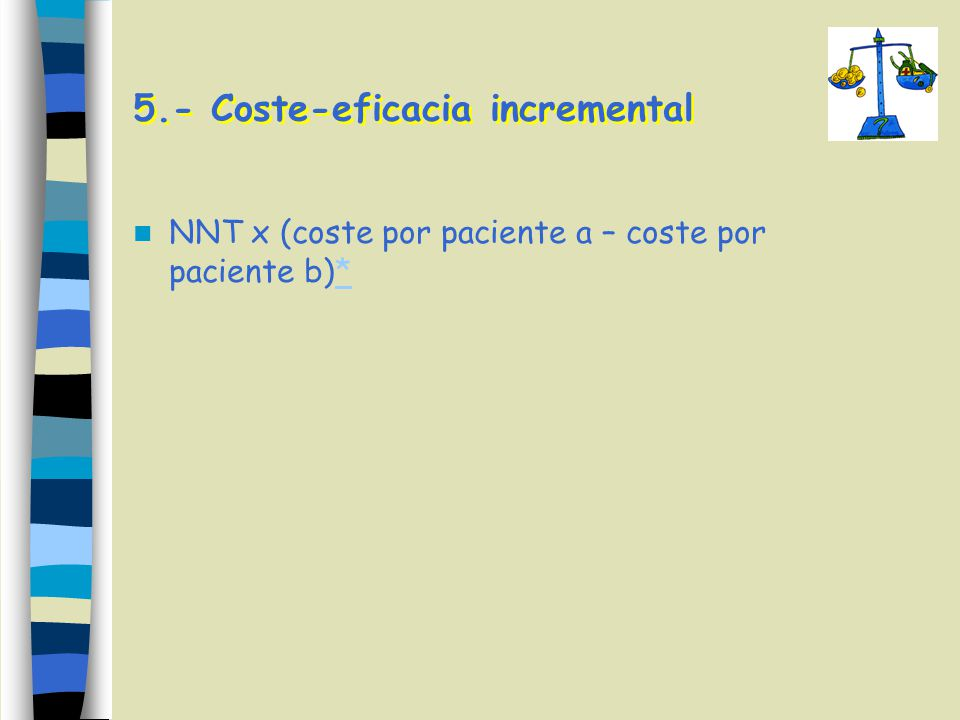5.- Coste-eficacia incremental