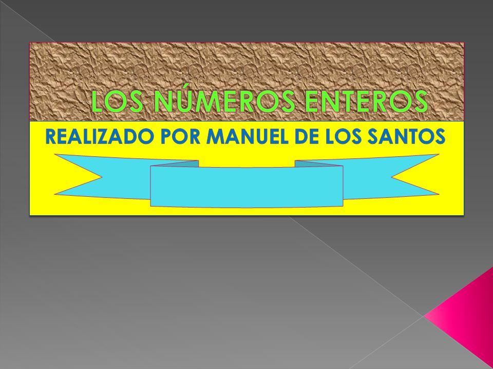 REALIZADO POR MANUEL DE LOS SANTOS