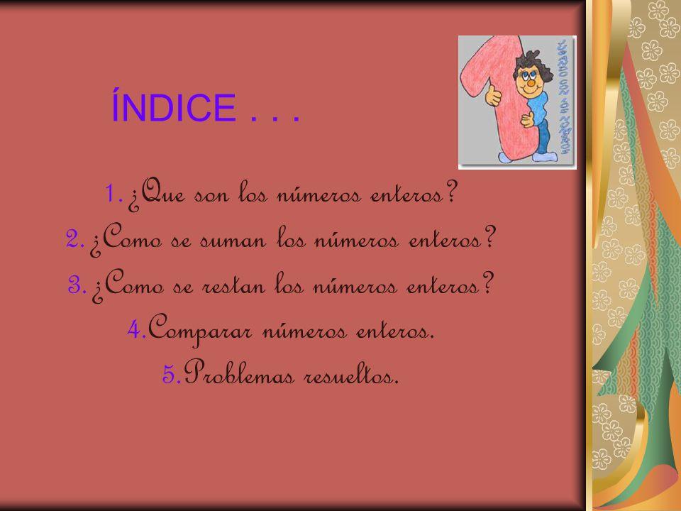 ÍNDICE . . .