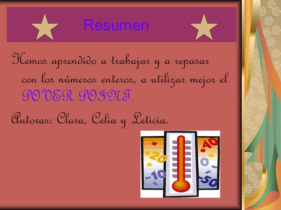 Autoras: Clara, Celia y Leticia. Autoras: Clara, Celia y Leticia