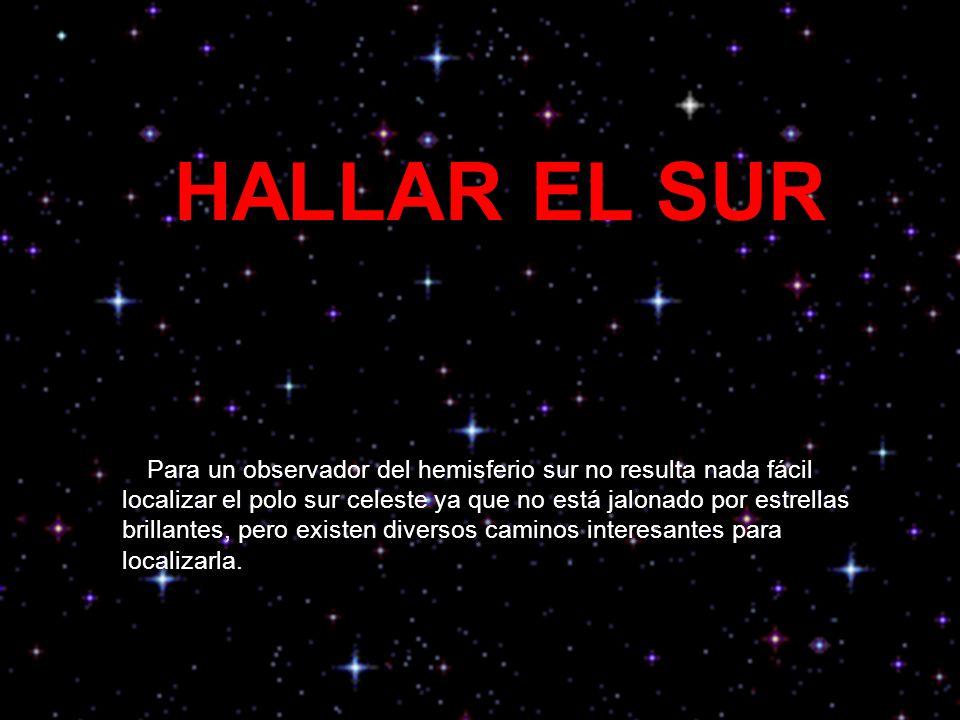 HALLAR EL SUR