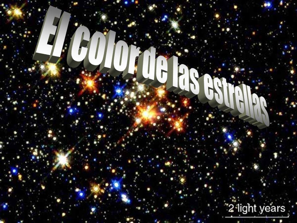 El color de las estrellas