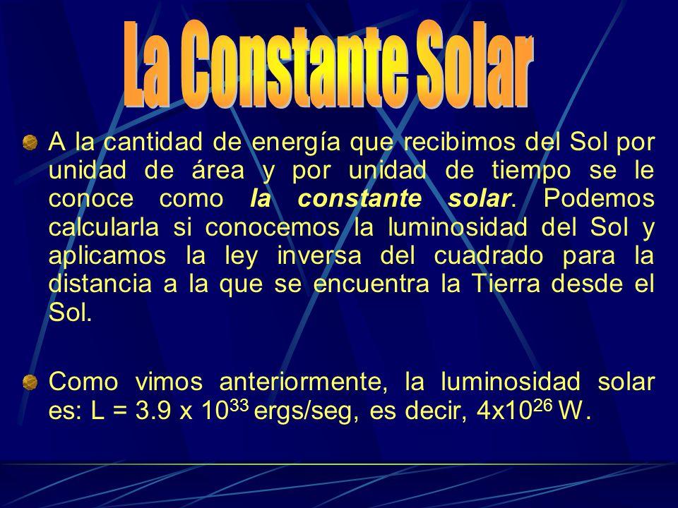 La Constante Solar
